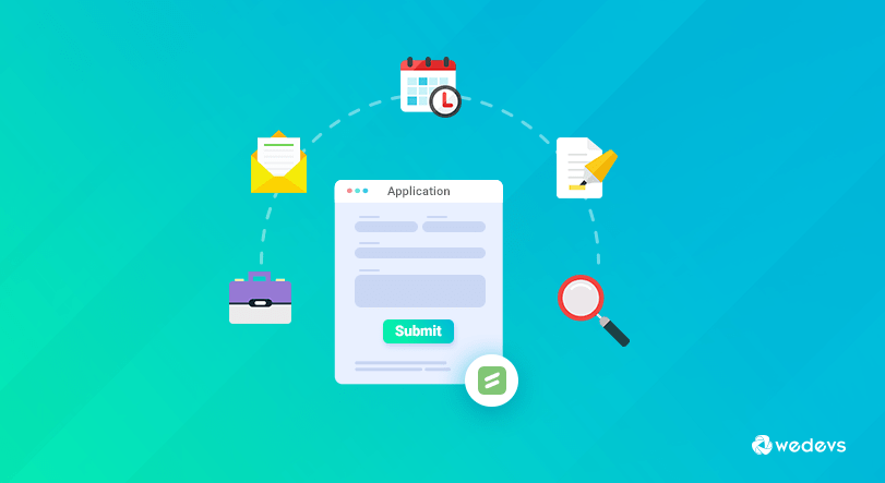 animation of an online application