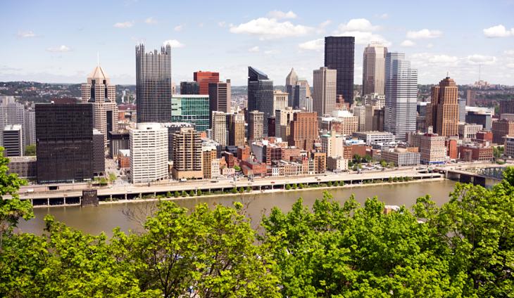 A skyline in Pennsylvania