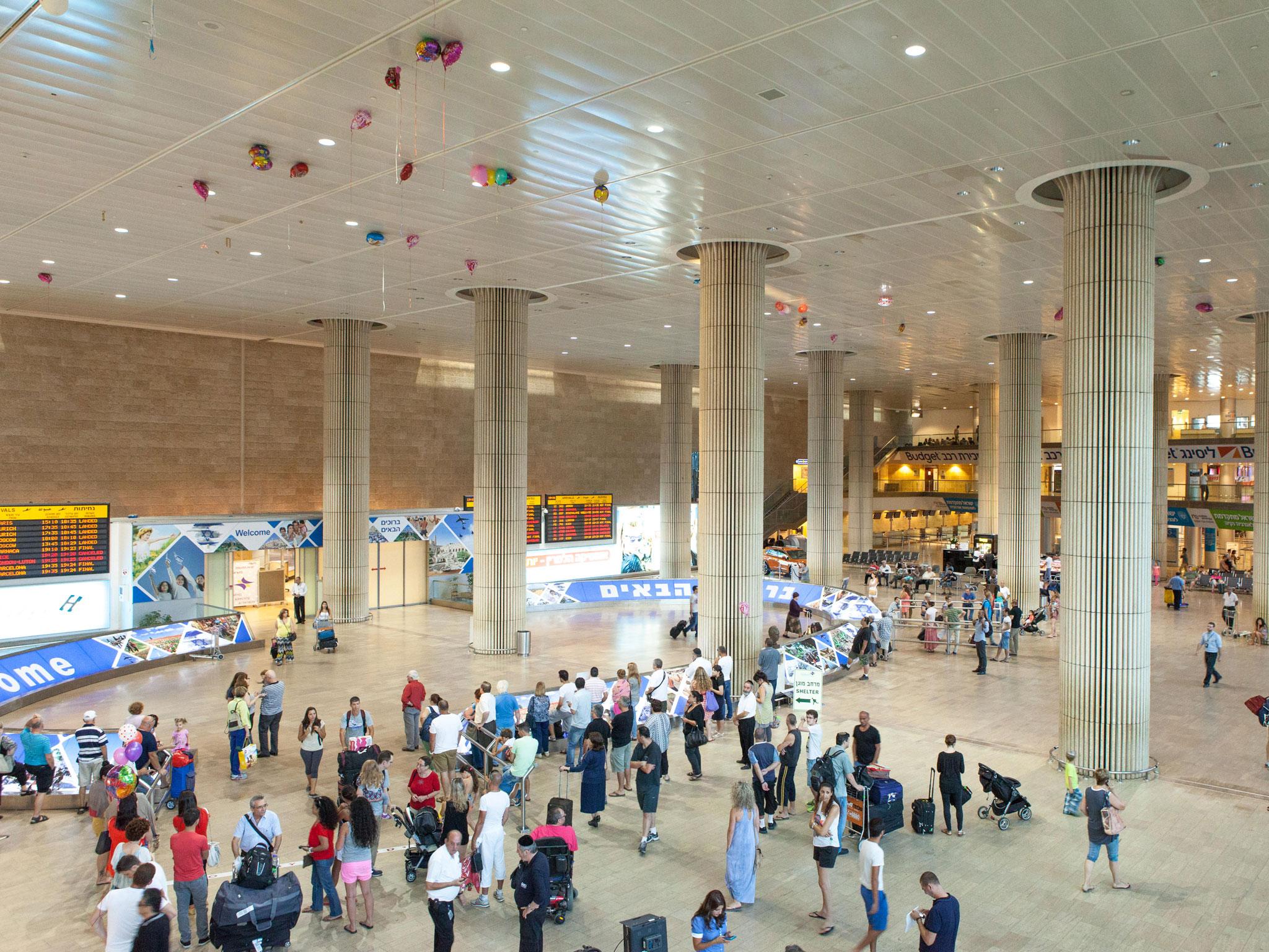 top ten airports ben gurion tel aviv