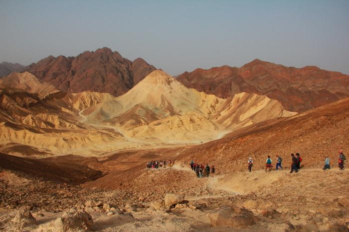 Hiking Through The Holy Land