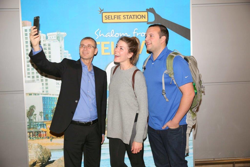 New Selfie Station opens at Ben Gurion Airport