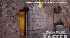 Happy Easter from the Gang Maranatha Tours
