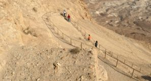 Maranatha Tours Hiking Masada Snake Path In Israel