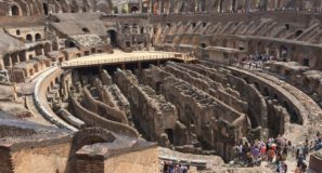 Exploring Italy with Maranatha Tours Roman Forum and Colosseum