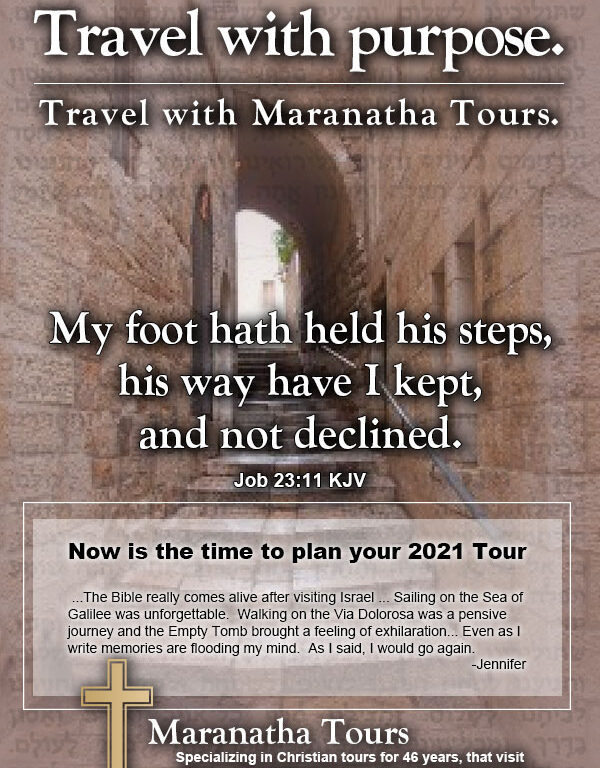Travel With Purpose We Will Travel Again Maranatha Tours