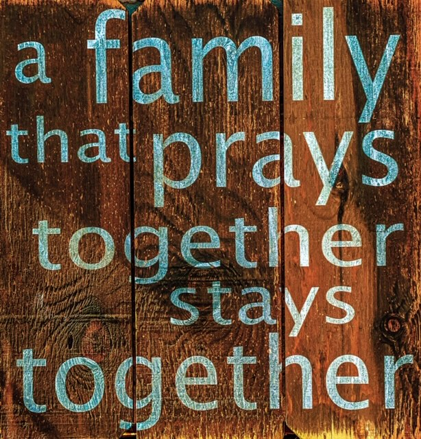 A Family That Prays Together National Day Of Prayer