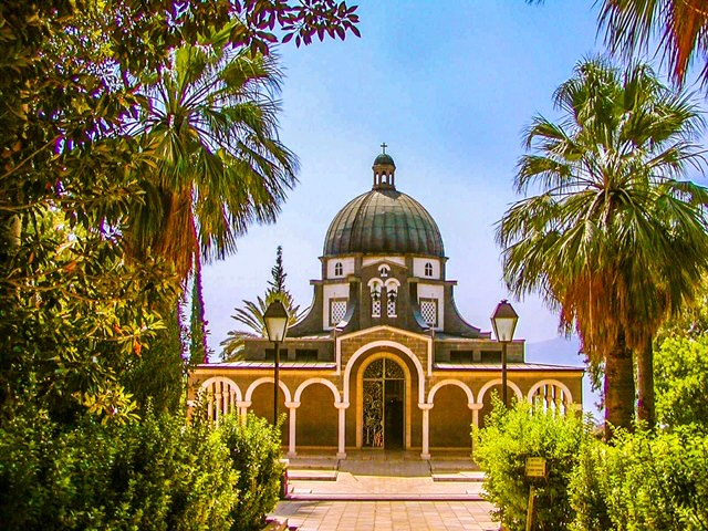 Biblical Sites Expanded Mount of Beatitudes Israel Maranatha Tours