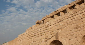 Biblical Sites Expanded Aqueduct of Caesarea Israel Maranatha Tours