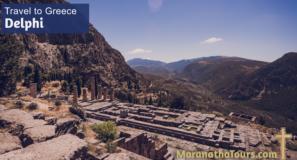 Explore Delphi Greece Travel with Purpose Maranatha Tours