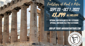 Footsteps of Peter & Paul Greece Italy Tour Return To Travel Special 2022