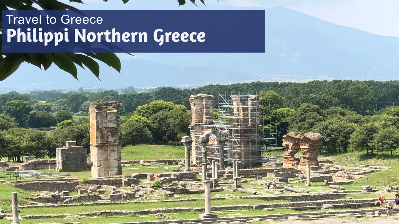 Explore Philippi Greece Time to Travel Maranatha Tours - Philippi where Apostle Paul preached and baptized the first Christians in Europe.