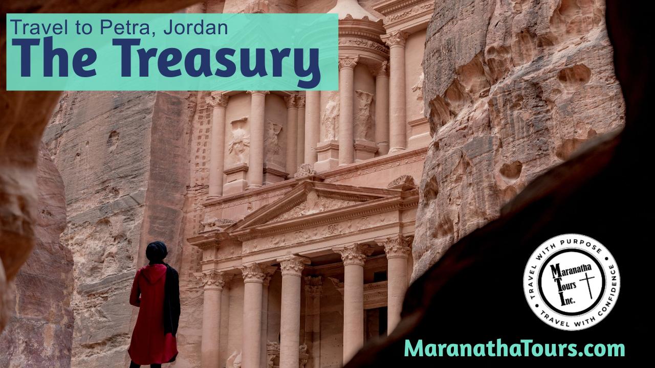 Explore The Treasury Petra Jordan Tour Maranatha Tours