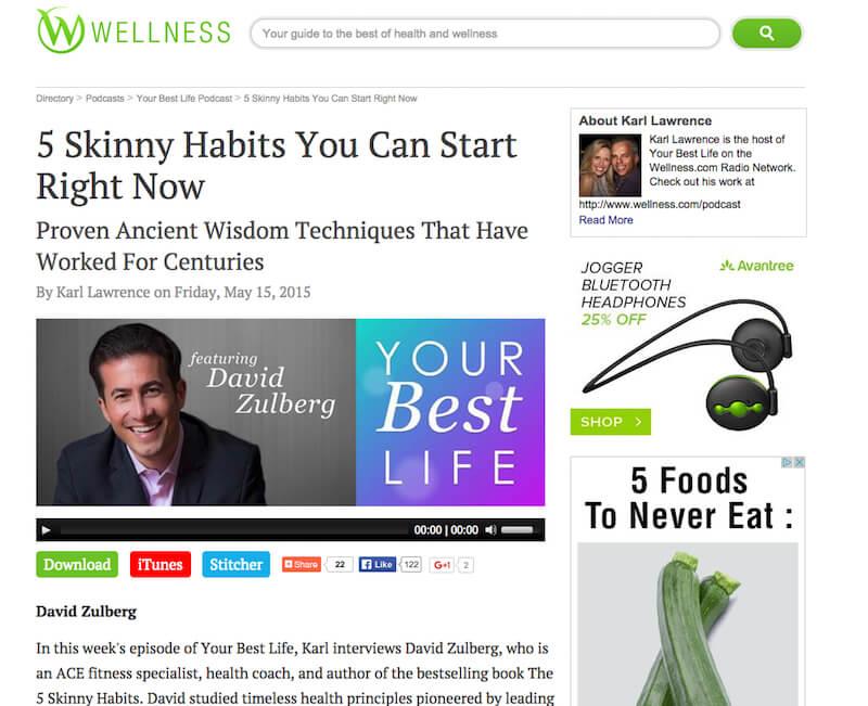 5 Skinny Habits Media