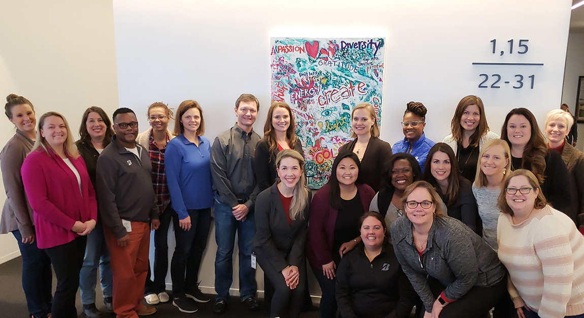 Bridgestone Women's Initiative Network Beth Inglish Artist Painting Workshop