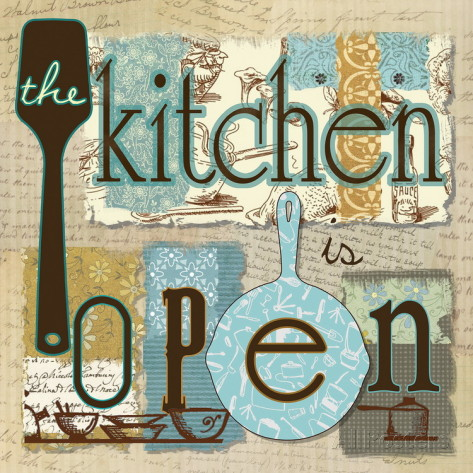 Kitchen Is Open