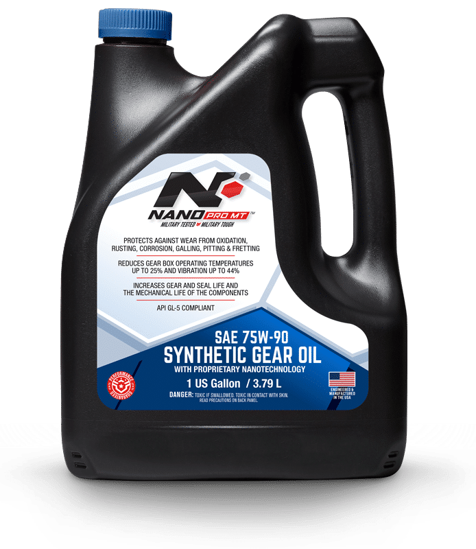 Nano Synthetic Gear Oil