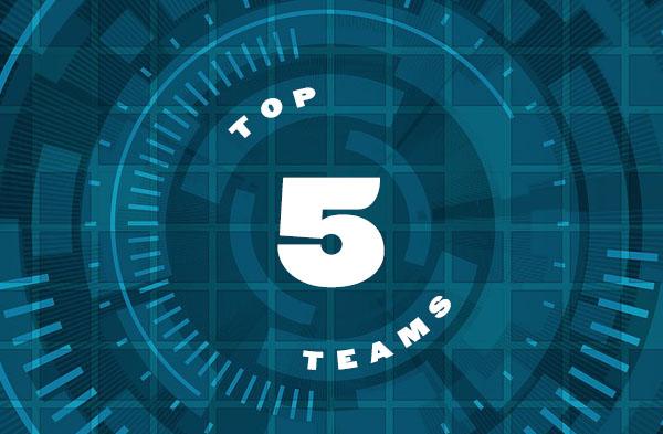 Top 5 Teams