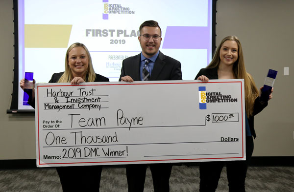 2019 Digital Marketing Competition Winner