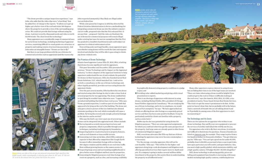 Send in the drones article flyworx