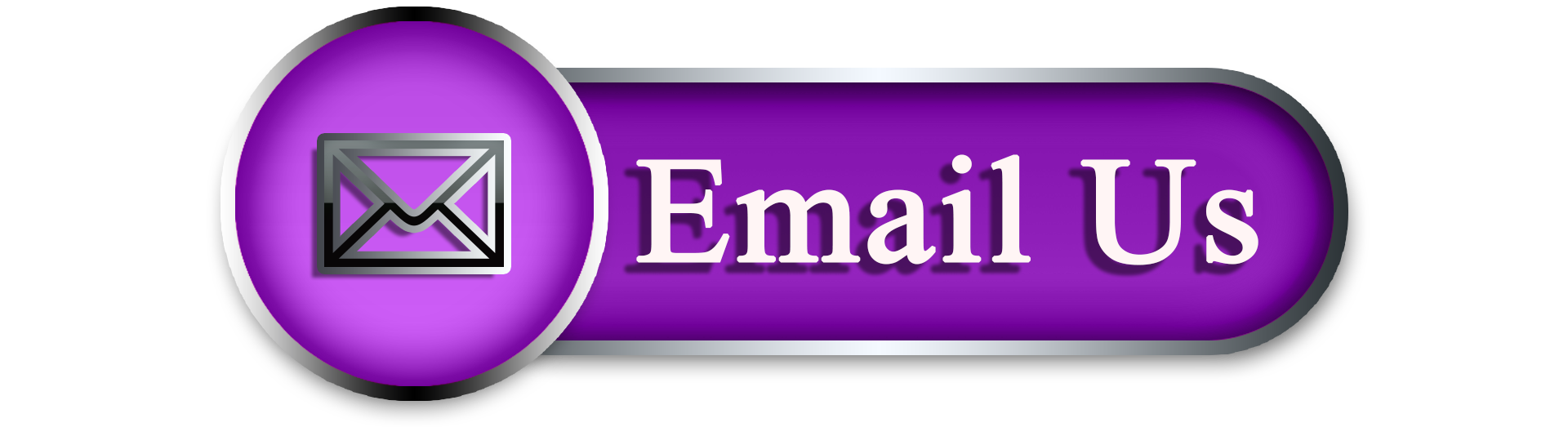 Purple and black email us image with an envelope on the Pro Tax & Accounting Contact Us page