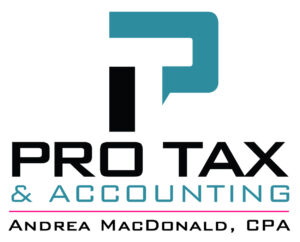 Pro Tax & Accounting logo used in the website footer
