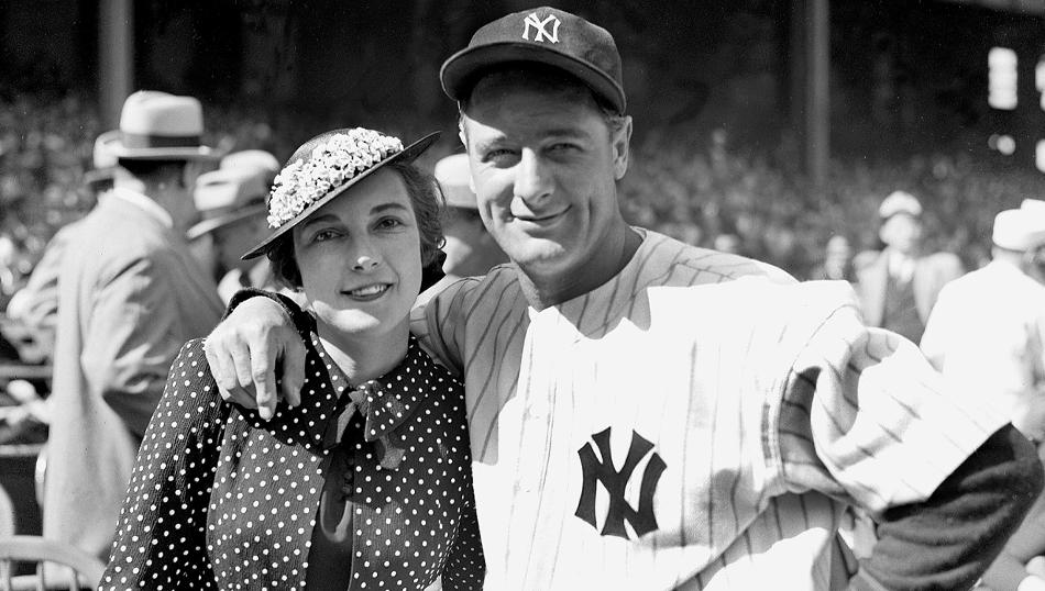 lou gehrig and wife
