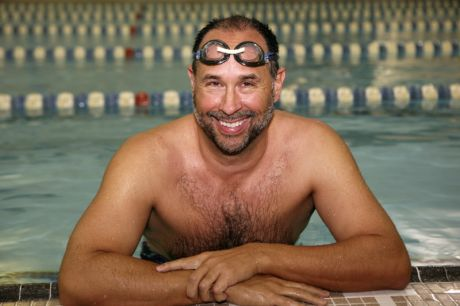 Doug McConnell open water training