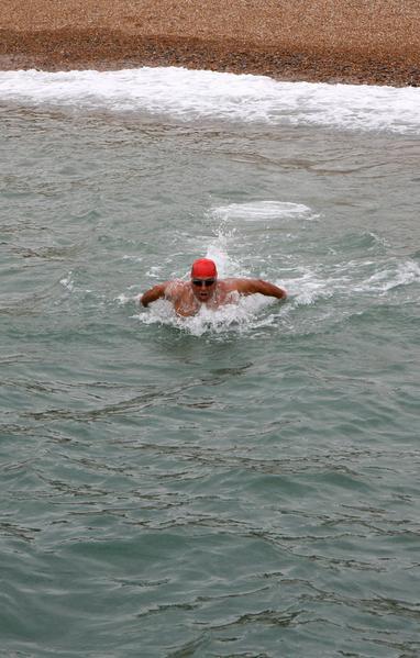 Doug McConnell off beach