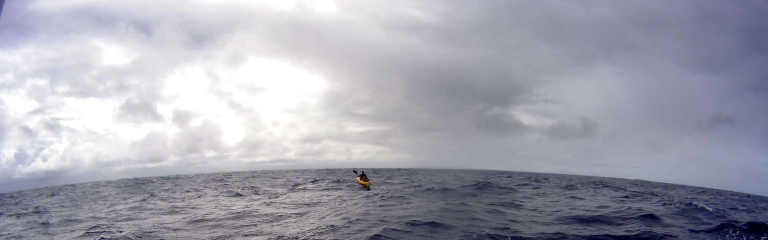 Doug McConnell swims Kaiwi channel swim photo
