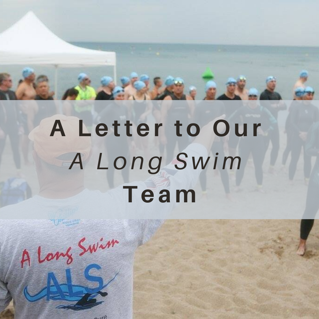 A Long Swim, ALS, Letter, Lake Michigan, Open Water Swimming