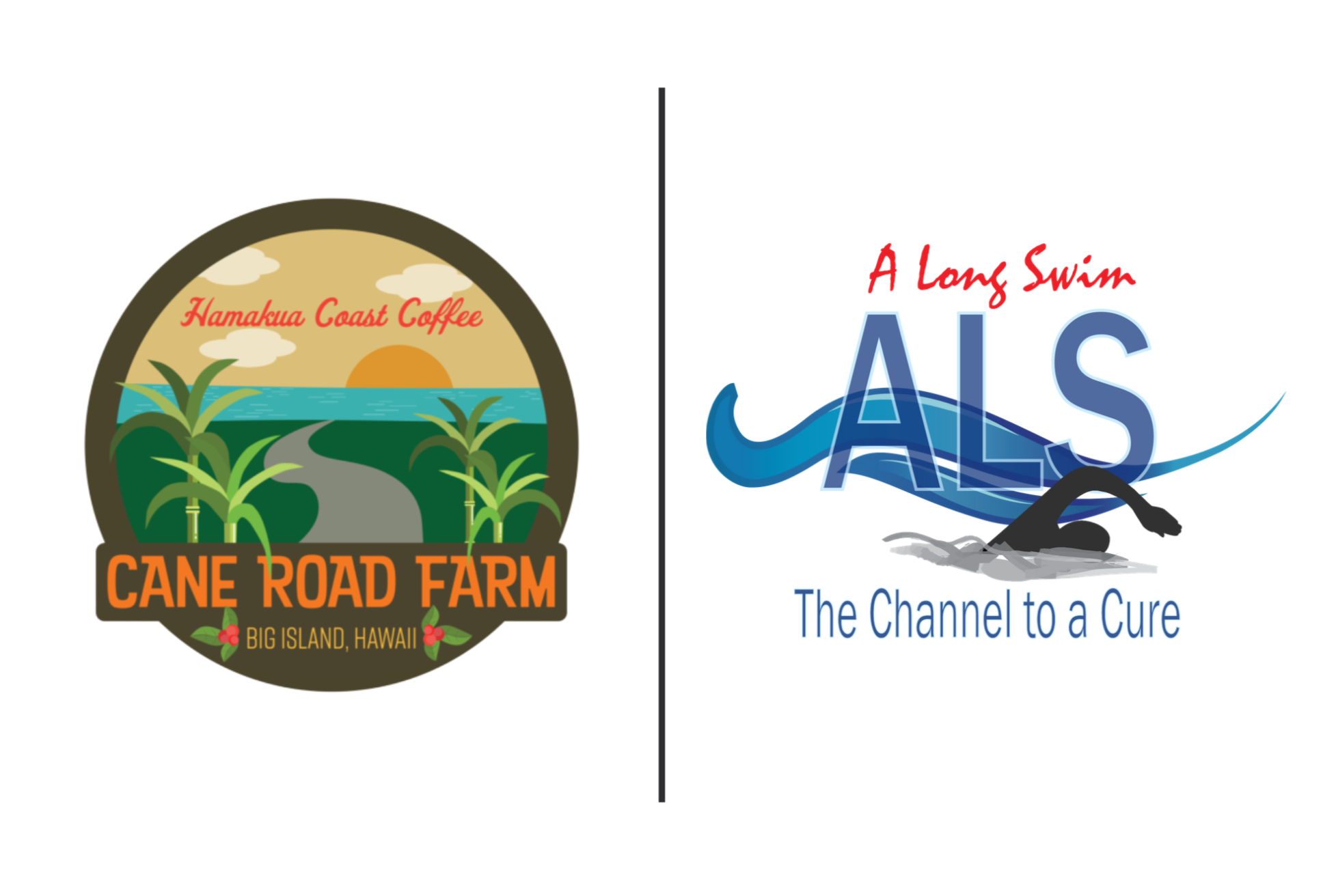Cane Road Farm Coffee Hawaii and A Long Swim ALS
