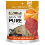 CANIDAE® Grain Free PURE Chewy Dog Treats with Bison & Pumpkin