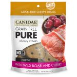 CANIDAE® Grain Free PURE Chewy Dog Treats with Wild Boar & Cherry