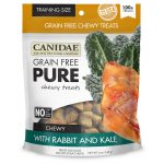 CANIDAE® Grain Free PURE Chewy Dog Treats with Rabbit & Kale