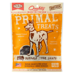 Primal Treats | Dry Roasted Buffalo Liver Snaps
