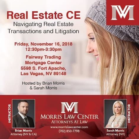 Real Estate CE Course: Navigating Real Estate Transactions and Litigation