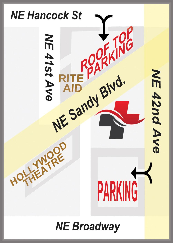 Portland Urgent Care Parking