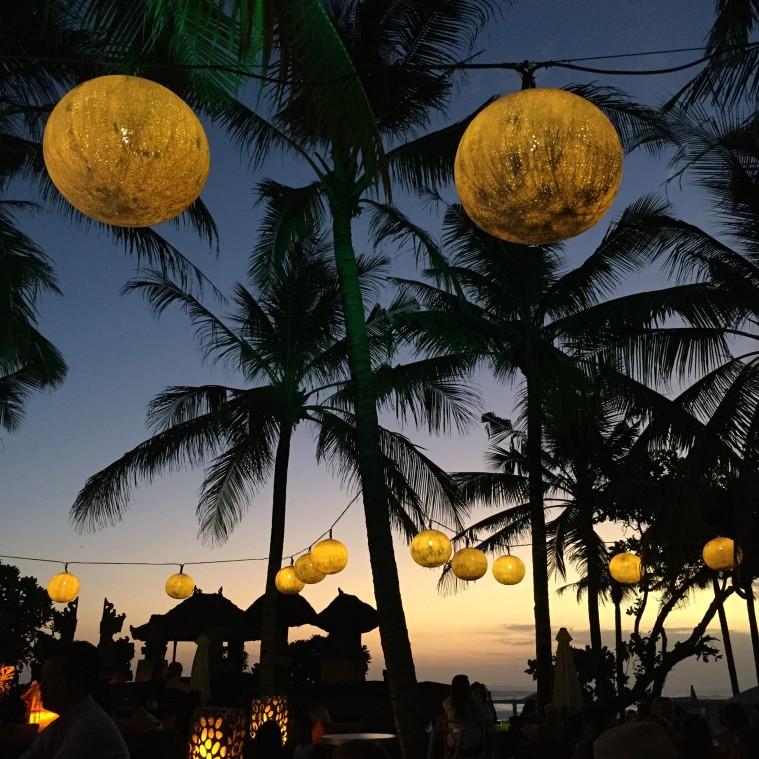marianna hewitt travel blog w hotel bali seminyak woo bar sunset palm trees