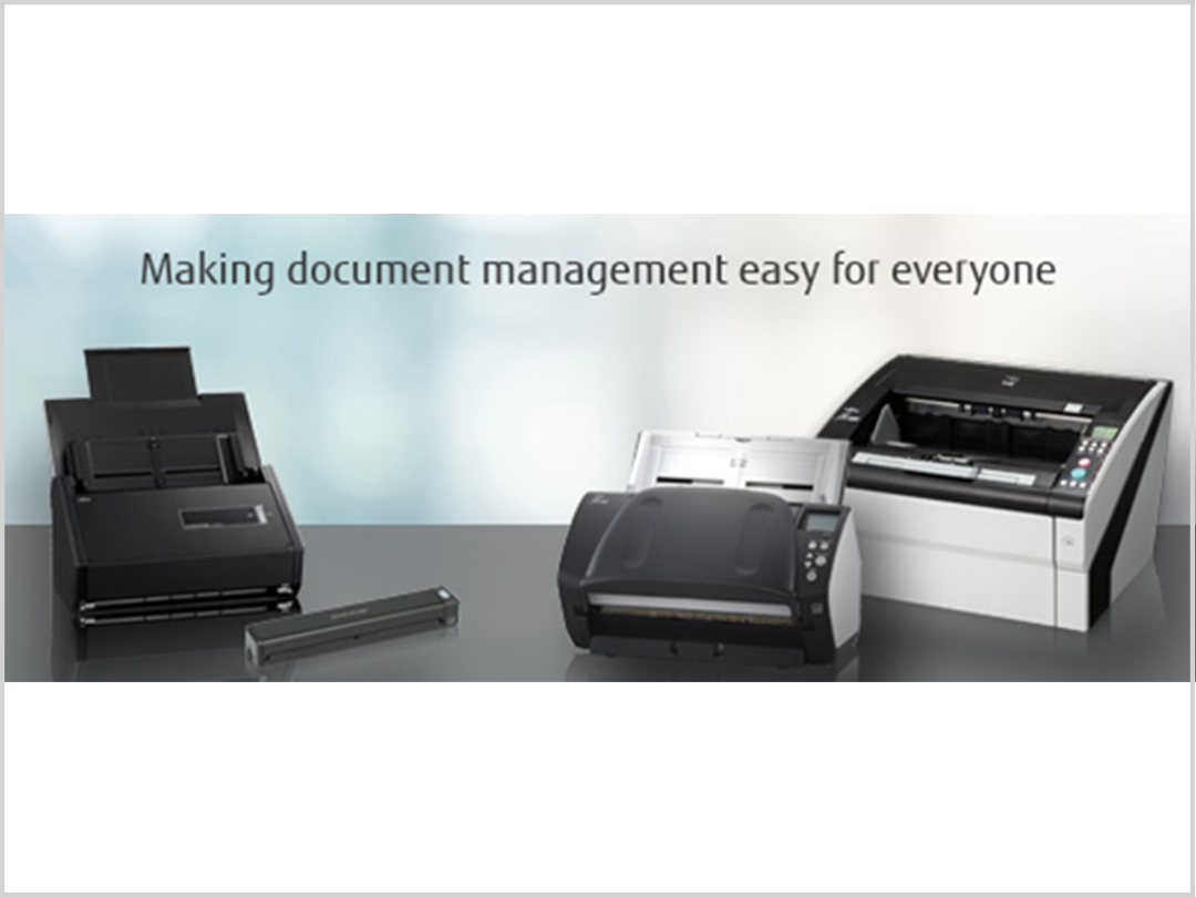 FUJITSU Document Scanners and Software Solutions