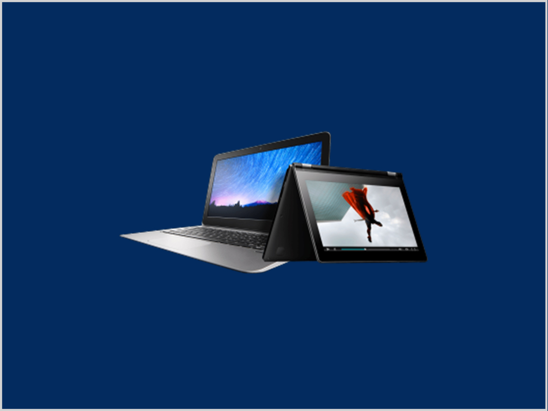 LAPTOPS POWERED BY INTEL