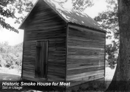 Smoke House for meat, built 1871