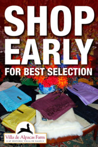 SHOP EARLY for Best Selection