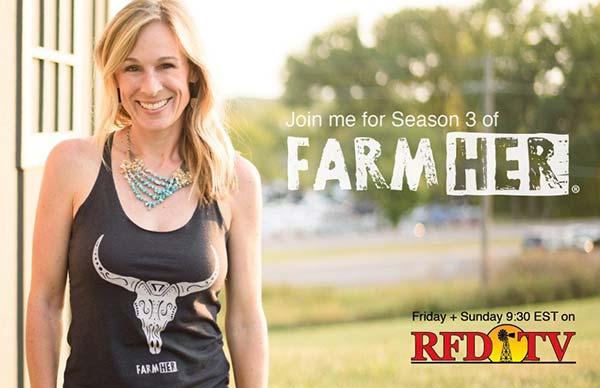 Marji Guyler-Alaniz, FarmHer Founder (Photo courtesy of FarmHer Website)