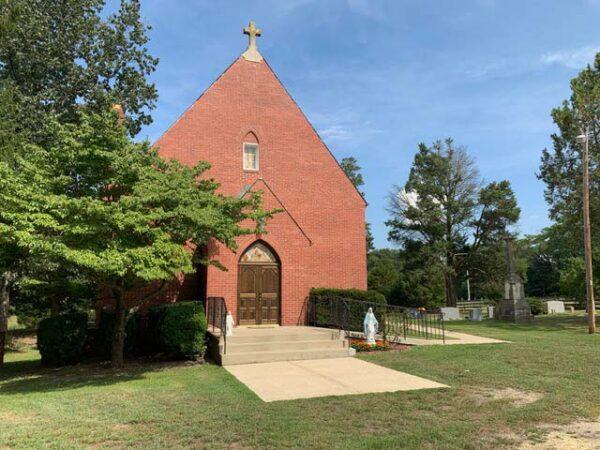 St. Dominic's Catholic Church facade