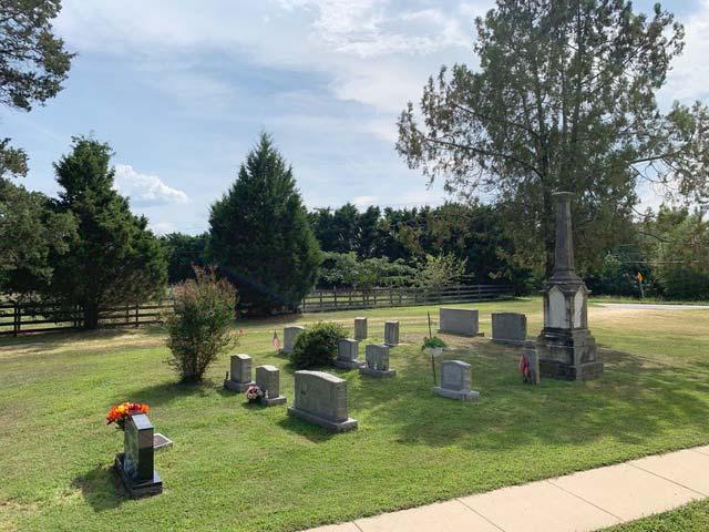 St. Dominics Catholic Church Bowling cemetery