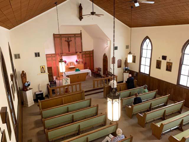St. Dominics Catholic Church interior