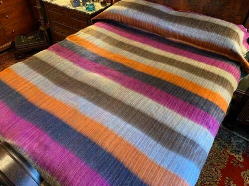 Fall Gem Alpaca Blanket