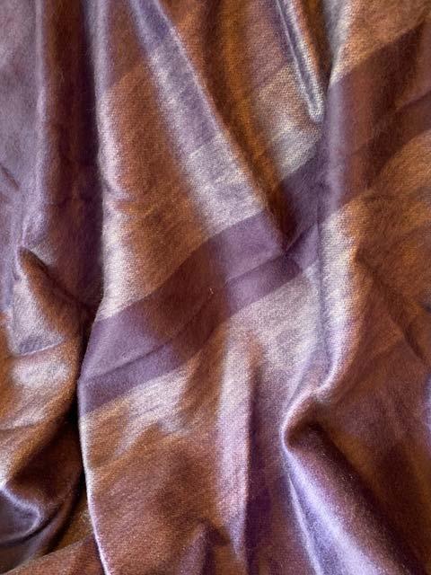 Alpaca Throw Peaceful Lavender Stripes alpaca throw blanket