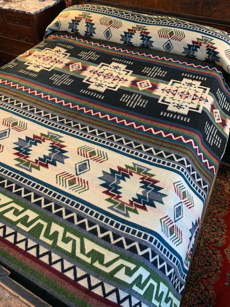 Beautiful Earth Tones Geometric blanket