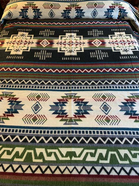 Beautiful Earth Tones Geometric blanket